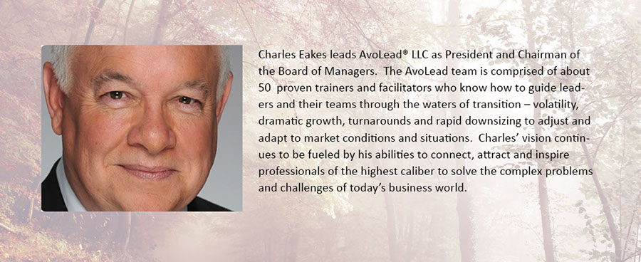 Charles Eakes, thought leader